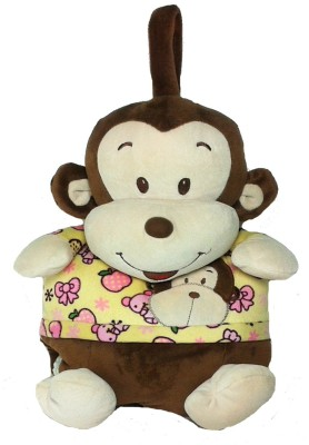 Soft Buddies Animal Single Blanket Beige & Brown