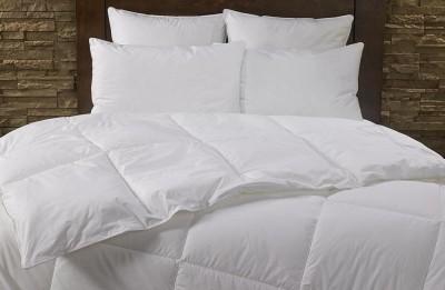 Craftola Plain Double Duvet White