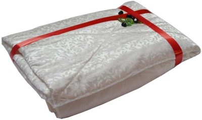 The Intellect Bazaar Floral Single Quilts & Comforters White