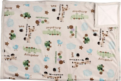 Offspring Abstract Single Blanket Multicolor