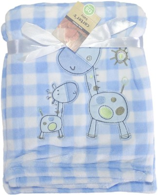 Babysid Collections Checkered Single Blanket, Crib Baby Blanket, Quilts & Comforters Blue