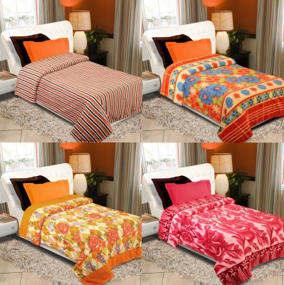 Laura Floral Double Blanket Multicolor