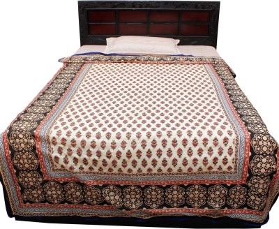 Jaipur Raga Floral Single Quilts & Comforters Black