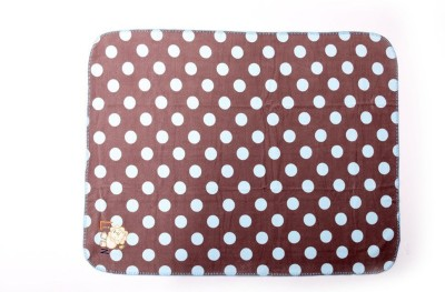 Baby Bucket Cartoon Single Blanket Brown