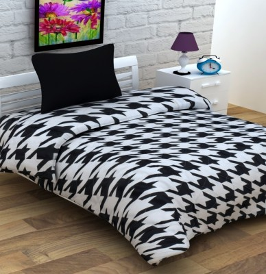 Enfin Homes Abstract Single Quilts & Comforters Black