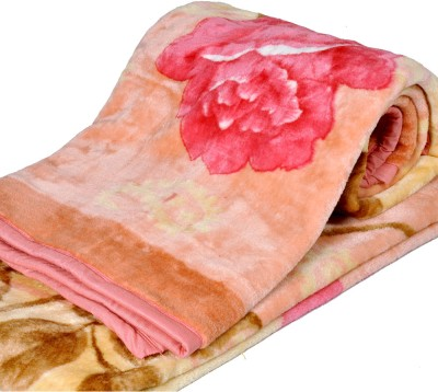 Little India Floral Single Blanket Multicolor