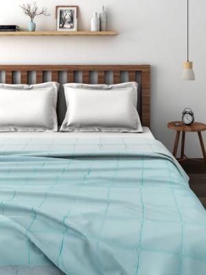 Raymond Plain Double Quilts & Comforters Blue(Quilt)