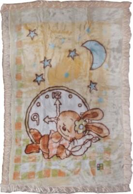 MeeMee Cartoon Single Quilts & Comforters Beige