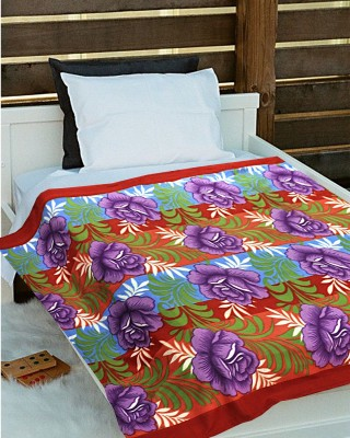 Tex n Craft Printed Single Blanket Multicolor
