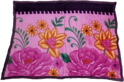 Light Gear Kids Warm Floral Single Blanket Multicolor