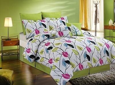 Artistic linen Floral Multicolor