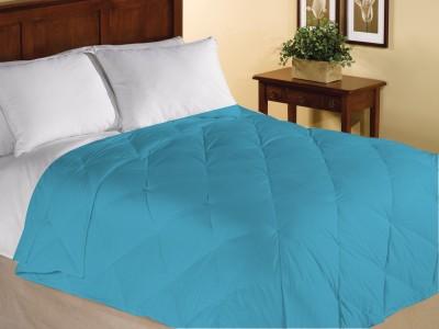 Home Bee USA Plain King Quilts & Comforters Aqua