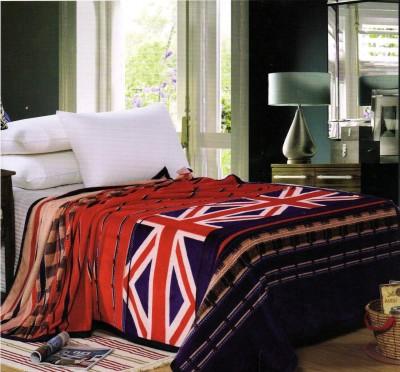 Valtellina Paisley Single Blanket Multicolor
