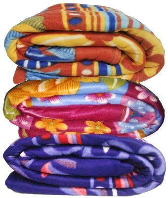 OshopTrades Abstract Single Blanket Multicolor