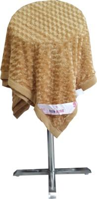 Welhouse Floral Single Blanket Beige