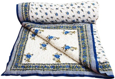 Indigocart Printed Double Quilts & Comforters Multicolor