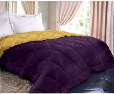Raymond Home Abstract Double Quilts & Comforters Voilet