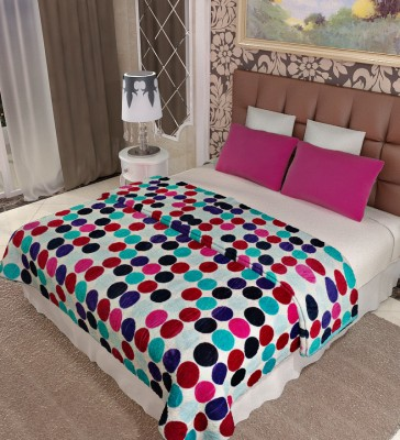 Home Candy Geometric Double Blanket Multicolor