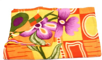 Kewin Floral Single Blanket Mix Color