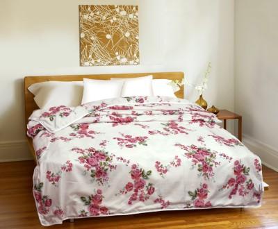 CURL UP Floral Single Dohar Multicolor