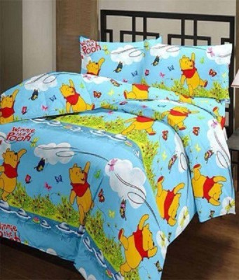 5 Second Cartoon Single Blanket Multicolor