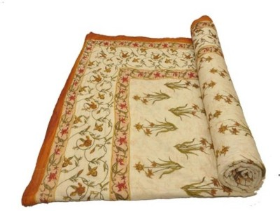 Sudharaj Paisley Single Blanket Cream
