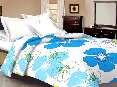 Ridan Floral Single Dohar Blue
