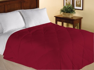 Home Bee USA Plain King Quilts & Comforters Red