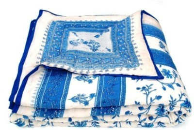 Bigonlineshop Floral Single Quilts & Comforters Blue