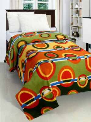 Surhome Abstract Single Blanket Multicolor