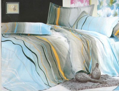 Skilin Abstract Double Quilts & Comforters Multicolor
