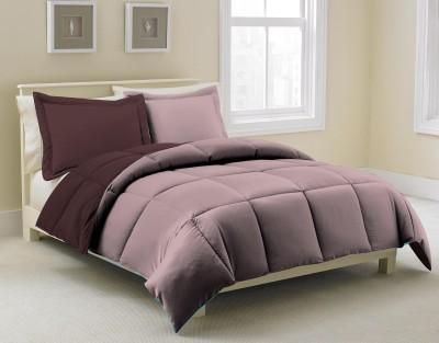 KIAANA USA Plain Single Quilts & Comforters Brown, Beige