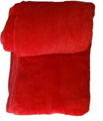 Kotcosy Checkered Single Blanket Red