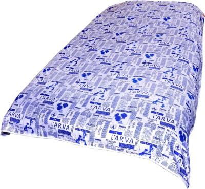 Animated&Florals Printed Single Dohar Blue, White