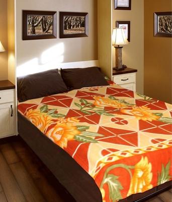 Saksham Floral Single Blanket Multicolor