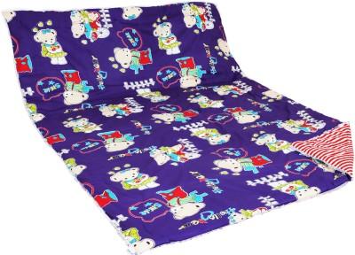 Aurraa Printed Single Quilts & Comforters Purple