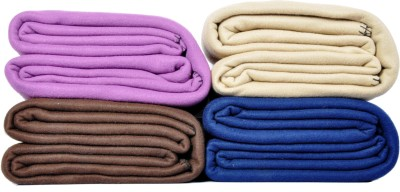Kema Plain Single Blanket Multicolor