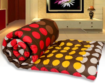 Urban Style Geometric Double Quilts & Comforters Multicolor