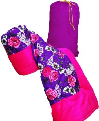 GS Museum Printed Single Blanket Pink