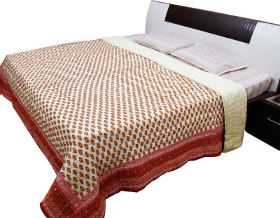 Halowishes Floral Double Quilts & Comforters Multicolor