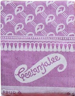 Geetanjalee Floral Single Top Sheet Purple