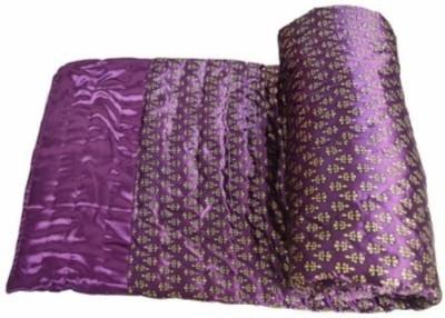 Bigshoponline Floral Double Quilts & Comforters Parple