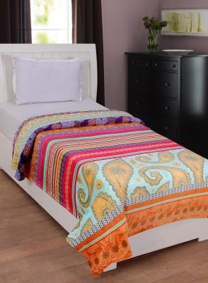 NIRWANA Abstract Single Blanket Multicolor