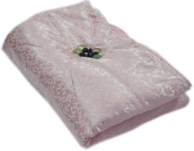 The Intellect Bazaar Floral Single Quilts & Comforters Peach