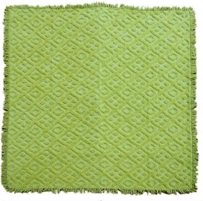 Saral Home Geometric Double Blanket Green