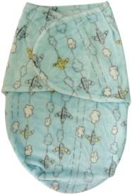 Carter's Printed Single Swadding Baby Blanket Multicolor(Fleece Blanket)