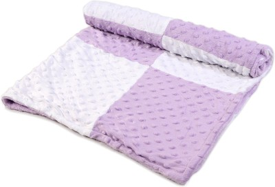 Baby Oodles Checkered Crib Crib Baby Blanket Lavender