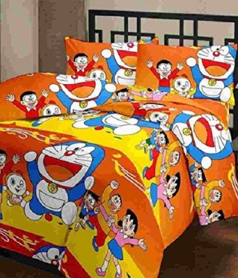 svt Cartoon Single Dohar Multicolor