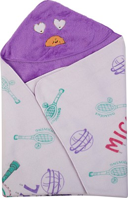 Utc Garments Cartoon Single Blanket Purple, Light Purple, White