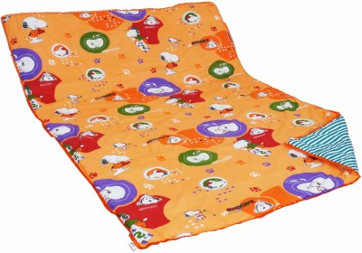 Aurraa Printed Single Quilts & Comforters Orange